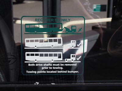 East Coast Buses Volvo B8RLE Eclipse 3 10062 SF17 VML recovery instructions