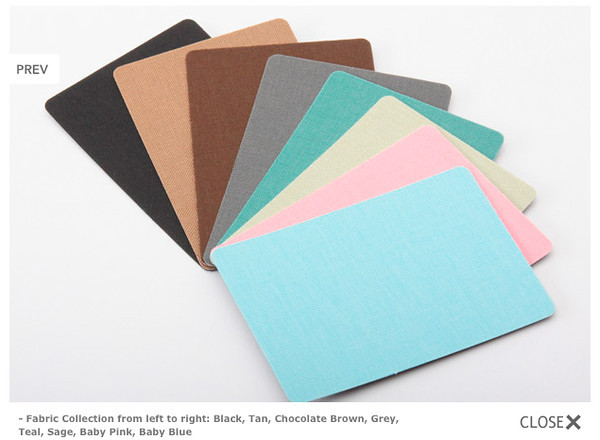 Standard Cover - Fabric Collection - Included in Base Cost