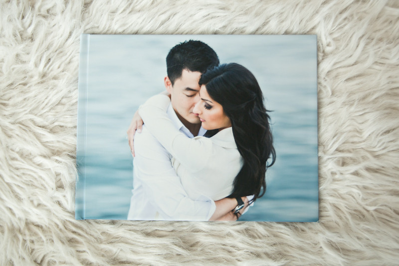 9x12 size Guestbook with Image Wrap Cover
