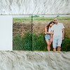 9x12 Guestbook with Lay Flat Hinged Pages