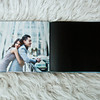 9x12 LAST PAGE in Image Wrap Cover with Lay Flat Hinged Pages