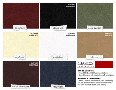 Luxury Collection - Cover Material Swatches