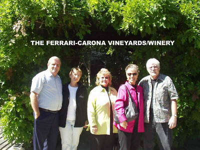 TOUR OF THE FERRARI-CARONA WINERY