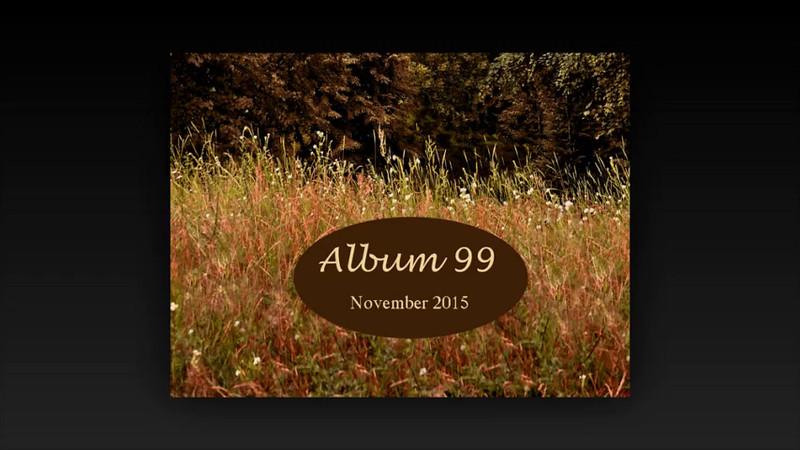 ALBUM 99 NOVEMBER 2015