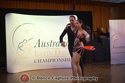 James & Jenny - Pro Am Salsa