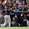ALDS Indians Red Sox Baseball