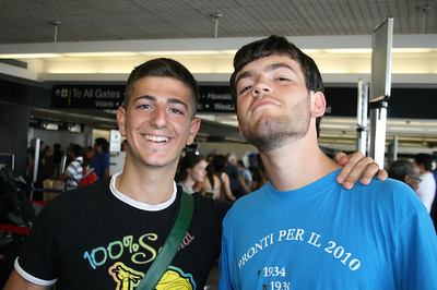 JIMMY & ALESSIO TAKING OFF FOR ROME @ LAX • 07.07.11