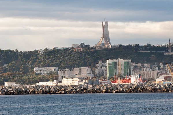Alger. Le mémorial du Martyr • Algiers. The Martyrs Memorial