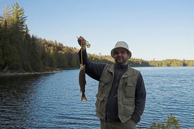 Algonquin Park First trout of the season