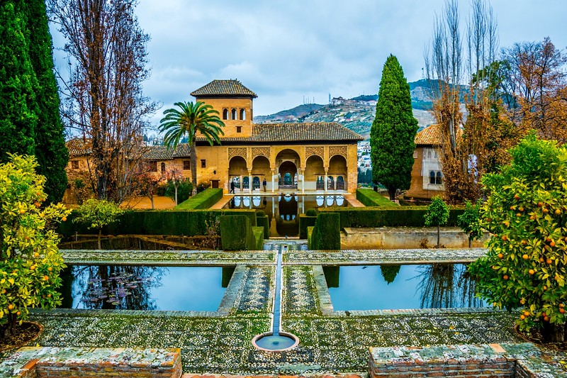 The Nasrid Dynasty leisure palace within the Generalife Gardens! Arguably, the closest thing to the fabled 'Gardens of Eden' on the Face of this Earth! Spellbound and transfixed by its ethereal beauty!