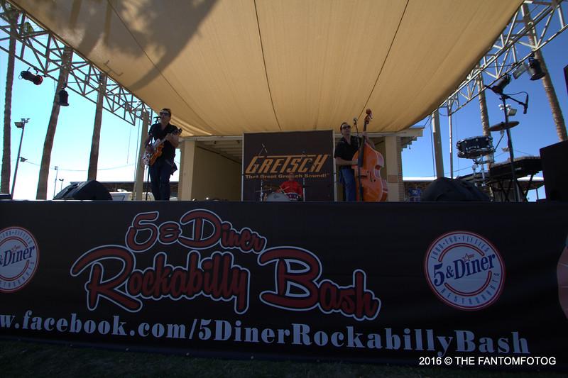 ALL 5 & DINER ROCKABILLY BASH 2016