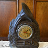 French Horn Clock