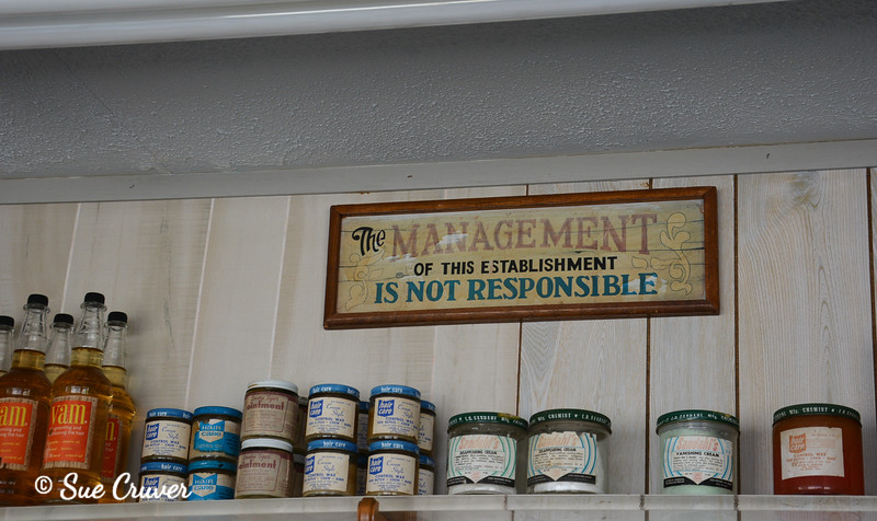 Country Store Management Sign