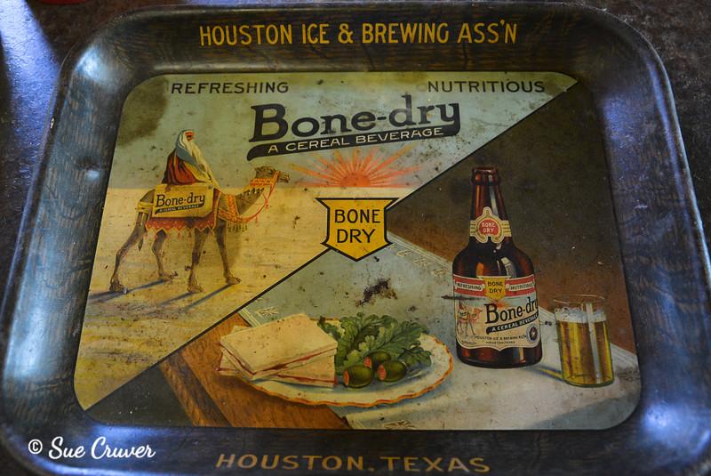Bone-dry Bar Tray