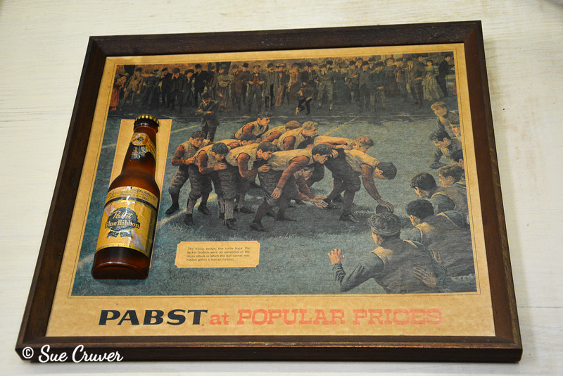 Old Pabst Beer Sign