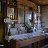 Wall Bar and Bottles