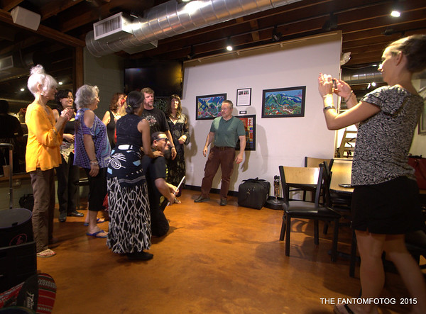 ALL BELLYDANCE AND DRUM AT THE REFUGE