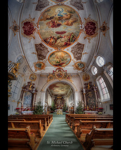 St. Michael Church, Altshausen, Germany 2014