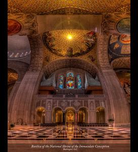 Basilica of the Nationa Shrine of the Immaculate Conception, Washington, D.C.