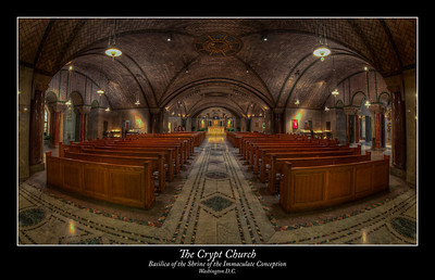 The Crypt Church within the Basilica of the National Shrine of the Immaculate Conception, Washington, D.C.
