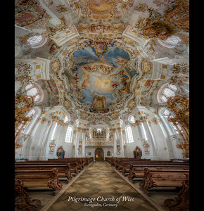 The Pilgimage Church of Wies near Steingaden Bavaria, Germany