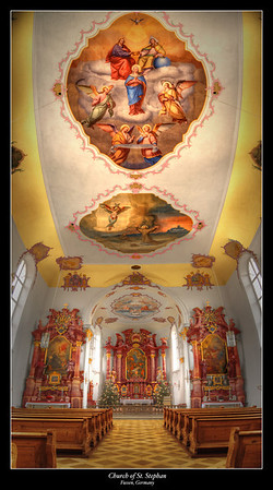 Church of St. Stephan, Fussen, Germany 2013