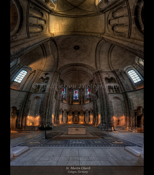 St. Martin Church, Cologne, Germany 2014