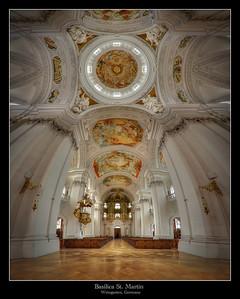 Basilica St. Martin, Weingarten, Germany 2013