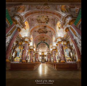 Church of St. Mary, Furstenfeldbruck, Germany