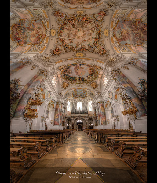 Ottobeuren Benedictine Abbey, Ottobeuren Germany