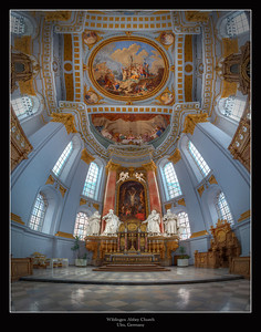 Wiblingen Abbey Church, Ulm, Germany 2013