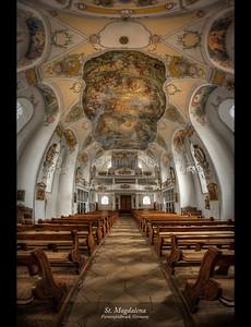 St, Magdalena Church, Furstenfeldbruck, Germany