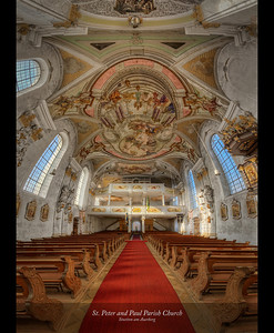 St. Peter and Paul Parish Church, Stoetton am Auerberg, Germany