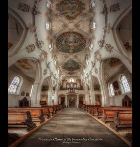 Franciscan Church of The Immaculate Conception, Uberlingen, Germany