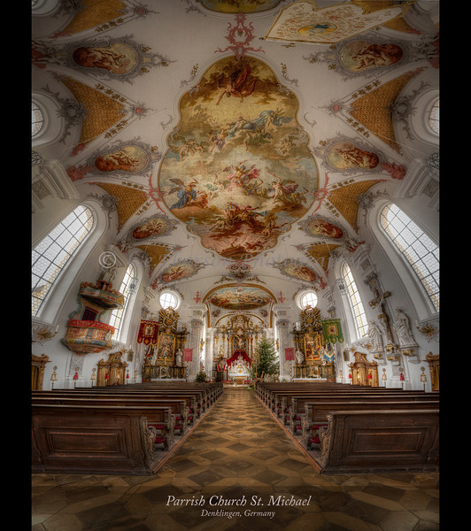 Parrish Church of St. Michael, Denklingen, Germany