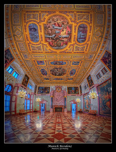 Residenz Hall, Munich, Germany 2013