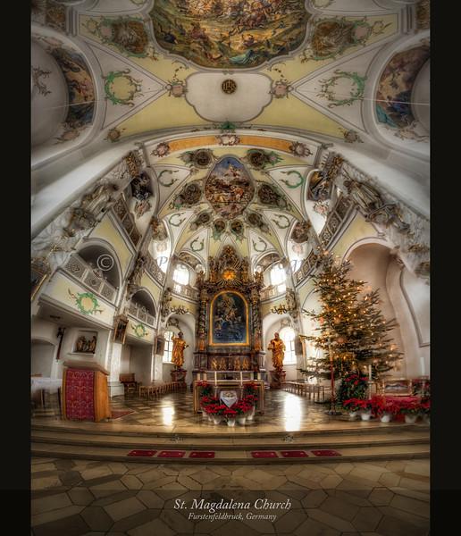 St. Magdalena Church, Furstenfeldbruck, Germany 2014