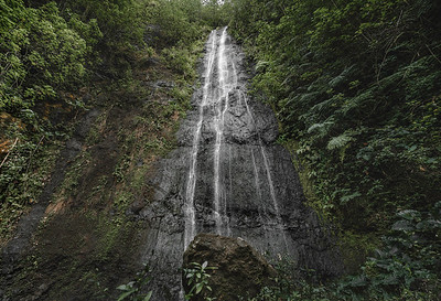 Pacific Waterfall