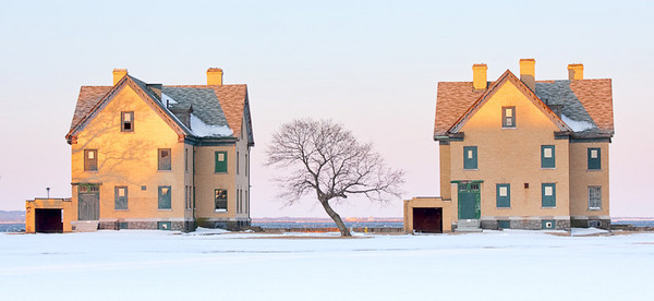 House, Tree, House<br /> Sandy Hook, NJ<br /> Peoples Choice Award Winner<br /> Monmouth Camera Club Photo Show, <br /> Middletown NJ LIbrary