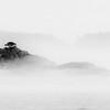 Island in Fog, Alaska