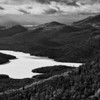 Lake Placid, from atop Whiteface Mountain