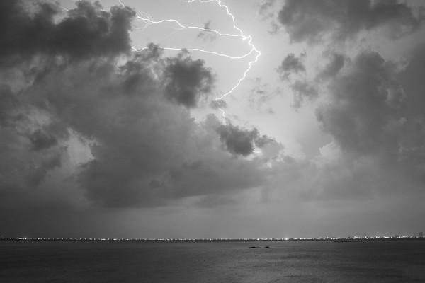 Lightning storm, Myrtle Beach