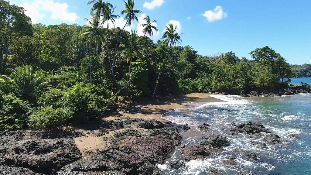 Rocky Panama Shoreline