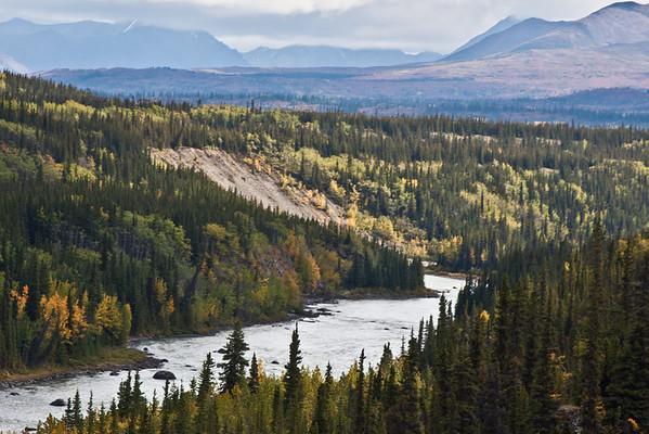 River through the Alaska Range