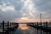 Sunset at Shark River Marina