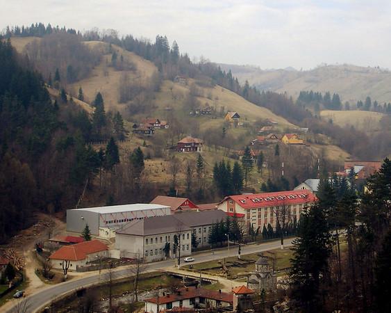 Hillside in Romania<br /> Photo by Dana Schwartz