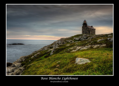 Rose Blanche Lighthouse, Newfoundland, Canada