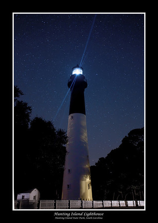 Hunting Island Lighthouse,  Hunting Island State Park, South Carolina