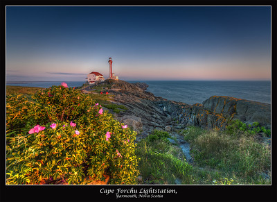 Cape Forchu Lightstation 2012