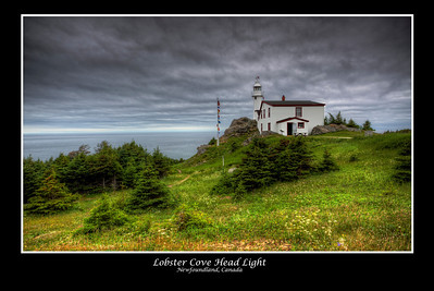 Lobster Cove Lighthouse, Newfoundland, Canada
